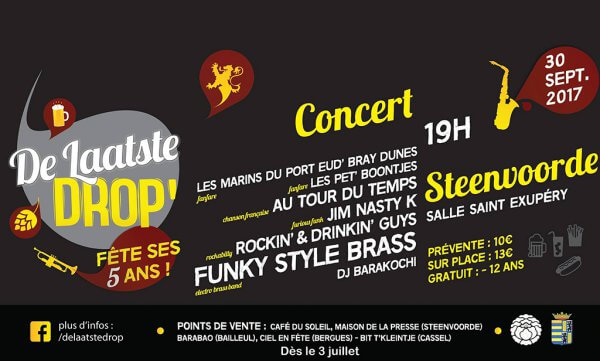 Concert 'The Laaste Drop' 5 ans