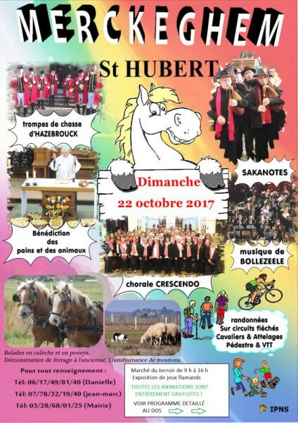 Fête de la Saint Hubert Merckeghem